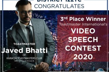 Javed Bhatti Video speech contest